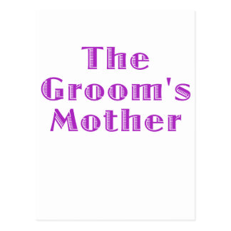 The Grooms Mother Postcard