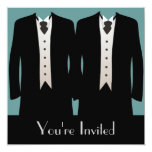 The Grooms Personalized Invitations