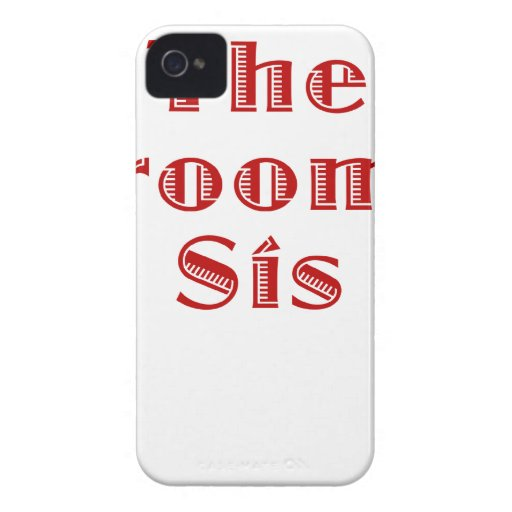 The Grooms Sis iPhone 4 Covers