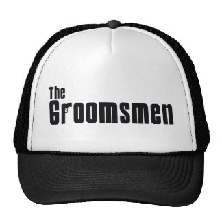 The Groomsmen Mafia Mesh Hat