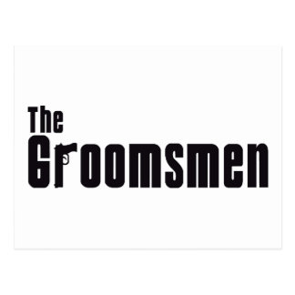 The Groomsmen (Mafia) Postcard