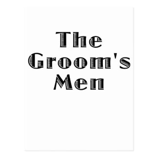 The Groomsmen Post Cards