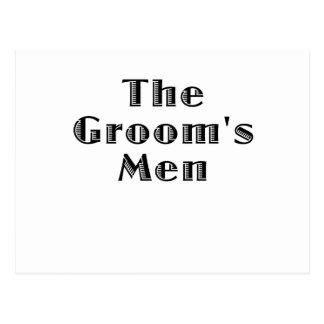 The Groomsmen Postcard