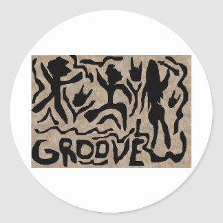 The Groove Classic Round Sticker