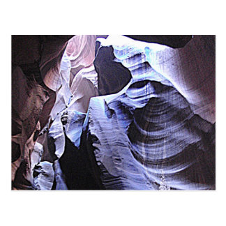 The grooves of Antelope Canyon Postcard
