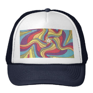 The Groovster Groovy Star Trucker Hat