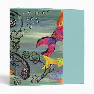 The Groovy Aquarium binder
