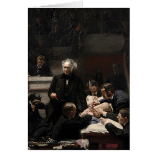The Gross Clinic by Thomas Eakins Card