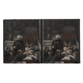 The Gross Clinic by Thomas Eakins iPad Folio Cases
