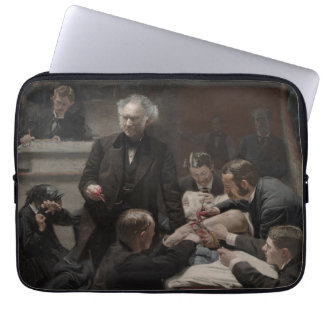 The Gross Clinic by Thomas Eakins Laptop Sleeve