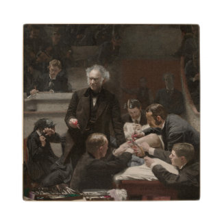 The Gross Clinic by Thomas Eakins Wooden Coaster