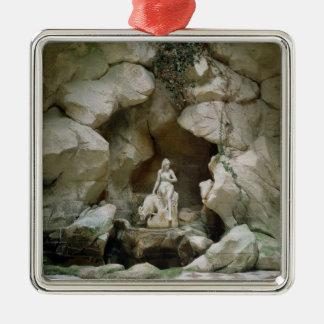 The Grotto of the Laiterie de la Reine Metal Ornament