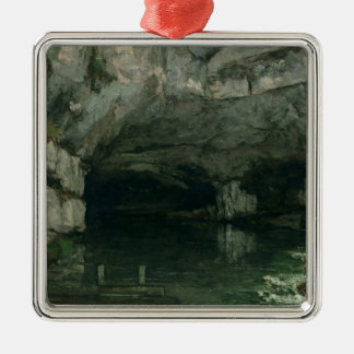 The Grotto of the Loue, 1864 Metal Ornament