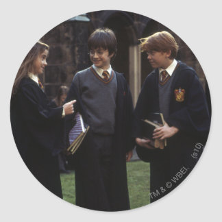 The group outside of Hogwarts Stickers