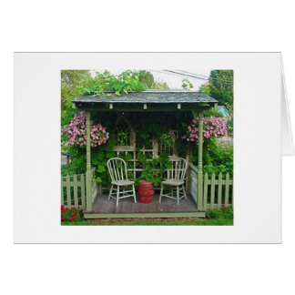 THE GROUP SAYS HAVE A HAPPY BIRTHDAY GARDEN STYLE CARD
