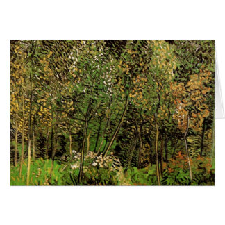 The Grove by Vincent van Gogh Stationery Note Card