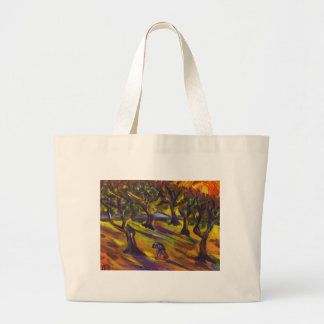THE GROVE OF OLIVES LARGE TOTE BAG