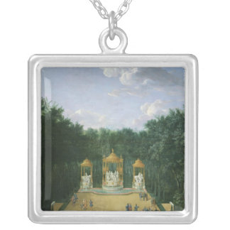 The Groves of the Baths of Apollo Personalized Necklace