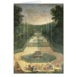 The Groves of Versailles Greeting Card