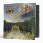 The Groves of Versailles. L'Arc de Triomphe Vinyl Binder