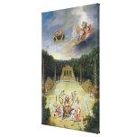 The Groves of Versailles. L'Arc de Triomphe Canvas Print