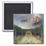 The Groves of Versailles. L'Arc de Triomphe Refrigerator Magnets