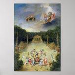 The Groves of Versailles. L'Arc de Triomphe Print