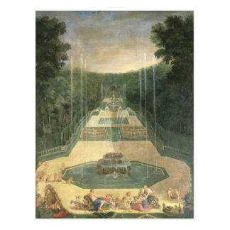 The Groves of Versailles Postcard