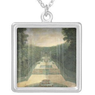 The Groves of Versailles Silver Plated Necklace