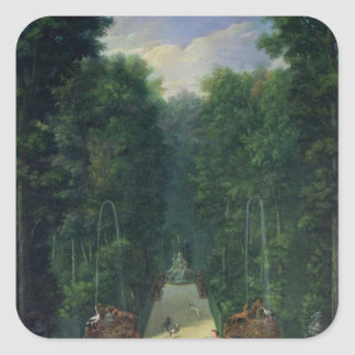 The Groves of Versailles Square Sticker