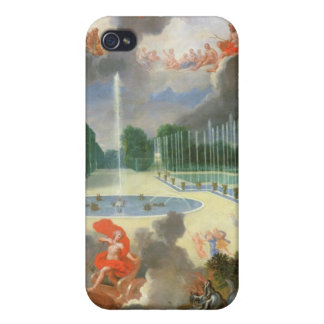 The Groves of Versailles. View of Dragon Pool Case For iPhone 4
