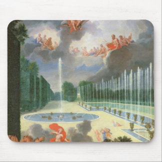 The Groves of Versailles. View of Dragon Pool Mouse Pad