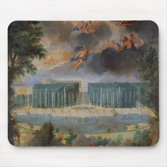 The Groves of Versailles. View of pool of Neptune Mouse Pad