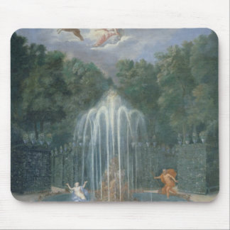 The Groves of Versailles. View of Star or Water Mouse Pad