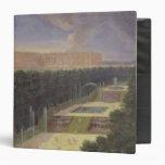 The Groves of Versailles Vinyl Binder