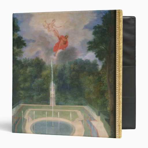 The Groves of Versailles with Mars 3 Ring Binder
