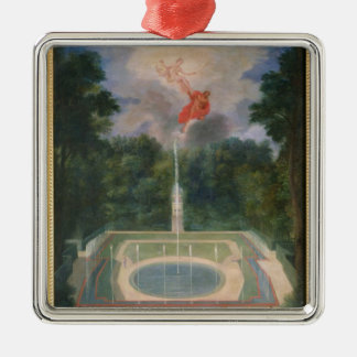 The Groves of Versailles with Mars Metal Ornament