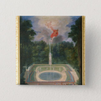The Groves of Versailles with Mars Pinback Button