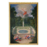 The Groves of Versailles with Mars Poster
