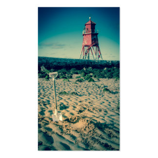 The Groyne Pier and Lighthouse Business Cards