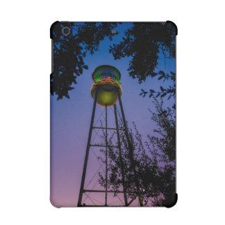 The Gruene water tower with the purple evening sky iPad Mini Case