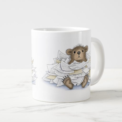 The Gruffies® - Jumbo Mug 20 Oz Large Ceramic Coffee Mug