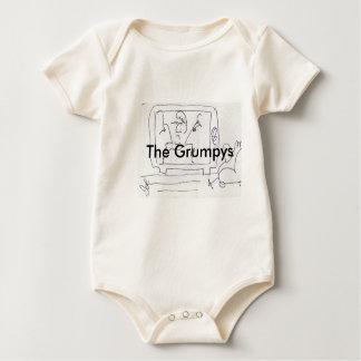The Grumpys baby Rompers