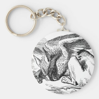 The  Gryphon from Alice in Wonderland Keychain
