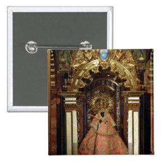 The Guadalupe Madonna 2 Inch Square Button