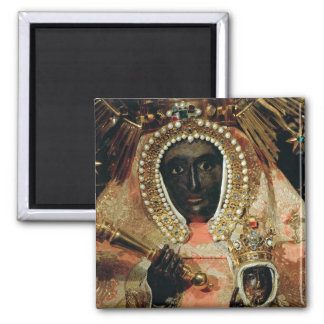 The Guadalupe Madonna 2 Inch Square Magnet