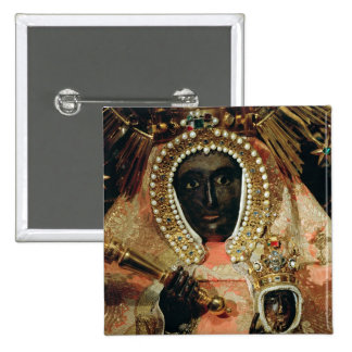 The Guadalupe Madonna Buttons
