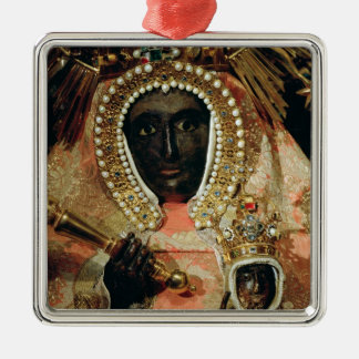 The Guadalupe Madonna Metal Ornament