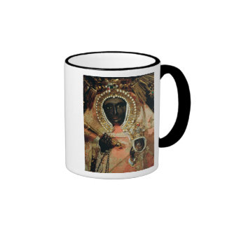 The Guadalupe Madonna Ringer Mug