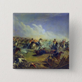The Guard hussars attacking near Warsaw Pinback Button